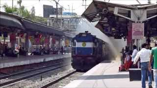 preview picture of video 'Aggressive Erode WDM-3A blows away Pimpri @100Kmph!!'
