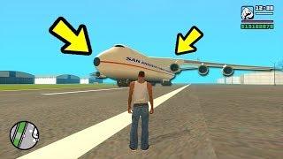 Это самый большой самолёт в GTA San Andreas!!!😱