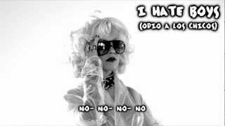 Christina Aguilera - I Hate Boys (Subtitulos en Español)