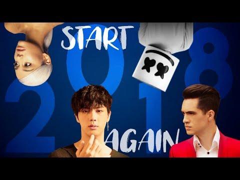 2018 MEGAMIX (Start 2018 Again) - Mashup of 200+ Songs // by JOSEPH JAMES