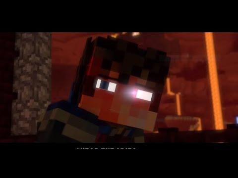 Starset - «My Demons» A Minecraft Music Video Animation