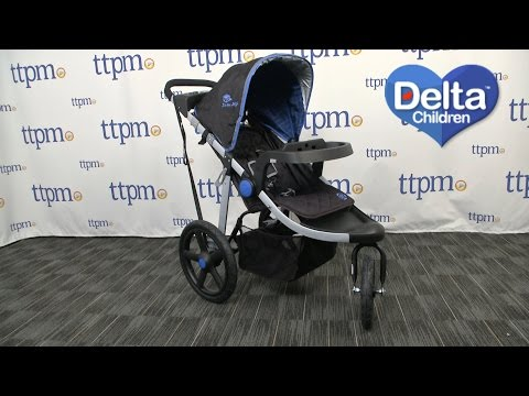 J is for Jeep Brand Adventure All-Terrain Jogging Stroller from Delta Children's Products