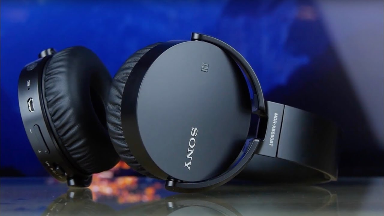 Наушники Sony Extra Bass (MDR-XB650 BT) Black video preview