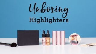 Unboxing Highlighters