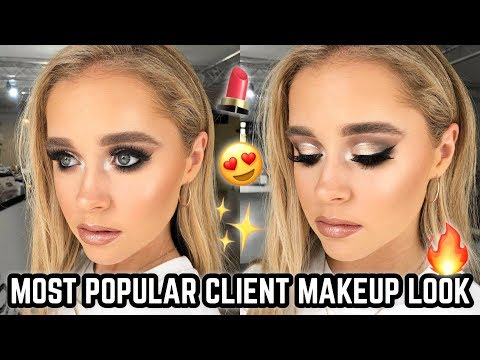 MOST REQUESTED CLIENT GLAM MAKEUP TUTORIAL ♡ JASMINE HAND