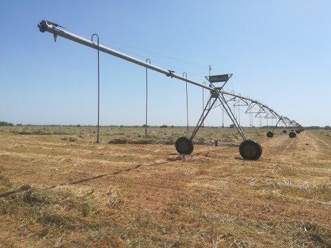 Deszczownia przęsłowa VALLEY(center pivot VALLEY) - nawadnianie upraw w USA