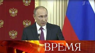 Владимир Путин онебывалом давлении, развернутом вСША вканун передачи верховной власти.