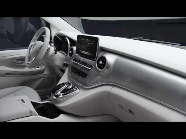 Geneva Motor Show 2015 - Mercedes-Benz Concept V-ision e PLUG-IN HYBRID Interior Design   AutoMotoTV