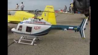 Полеты авиамоделей в день столетия авиации России