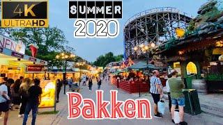 """WORLD'S OLDEST AMUSEMENT PARK """"BAKKEN"""" Dyrehavsbakken/ Copenhagen, Denmark Attractions"""