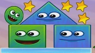 Мультик игра для детей про ШАР и КВАДРАТ - #1