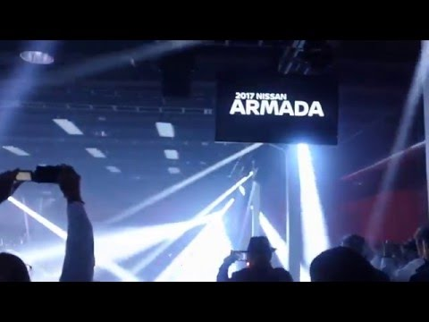 Nissan's debut of the 2016 Armada @ Chicago Auto Show Media Preview