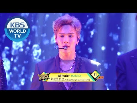 MONSTA X - Alligator[Music Bank/2019.03.08]