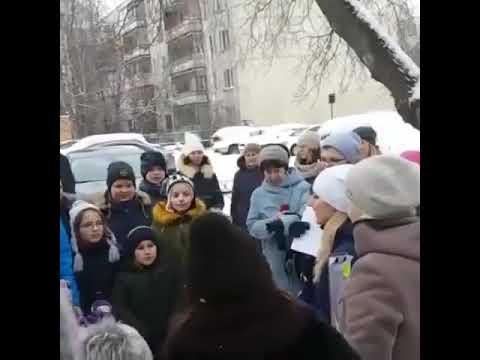 Праздник в Раменском филиале) зимние забавы)