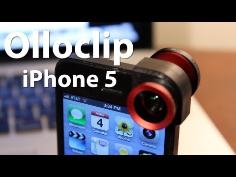 Olloclip for iPhone 5 Review/Demo – 3 in 1 Lens (Fisheye, Wide-Angle, & Macro) with Pictures