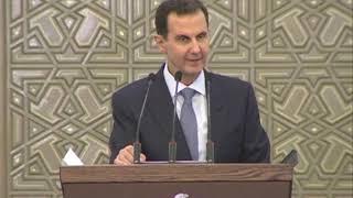 كلمة الرئيس الأسد أمام أعضاء مجلس الشعب للدور التشريعي الثالث 12\8\2020