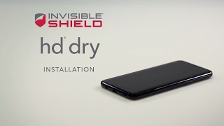 How To Install HD Dry - Samsung Galaxy S8 & S9 - Invisible Shield