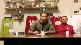 preview picture of video 'Conferenza stampa pre-derby di Mr. Macchia Daniele e Scalese Marco.'