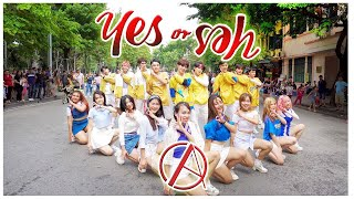 """[KPOP IN PUBLIC CHALLENGE] TWICE(트와이스) """"YES or YES"""" Dance Cover By C.A.C from Vietnam"""