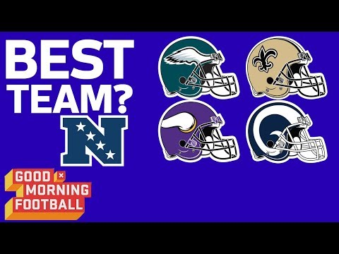 NFC's Team to Beat: Eagles, Rams, Saints, or Vikings? | Good Morning Football | NFL Network