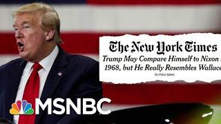 Steve Schmidt Calls Trump 'The Second President Of The Confederacy' | Deadline | MSNBC