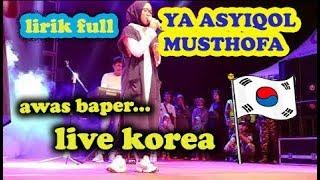 ya asyiqol musthofa lirik nissa sabyan live - Thủ thuật máy