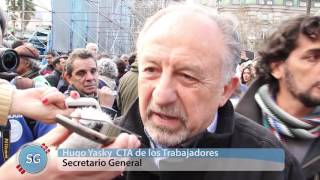Audiovisual: La Marcha Federal en Plaza de Mayo