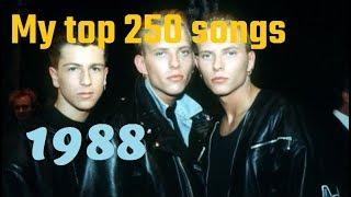 My Top 250 of 1988 songs