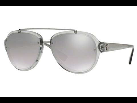 Overview Of The Versace VE4327 Transparent Grey Sunglasses