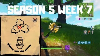 """""""Follow the Treasure Map Found In Dusty Divot"""" - Season 5 Week 7 Challenges"""