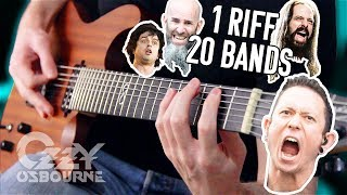 1 Riff 20 Bands #3: Crazy Train! | Pete Cottrell