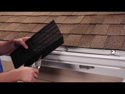 Raindrop Gutter Guard System (Step by Step Installation Guide)