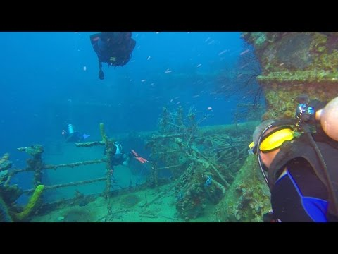 Diving in Barbados with Sandals Barbados...GoPro 1080p HD