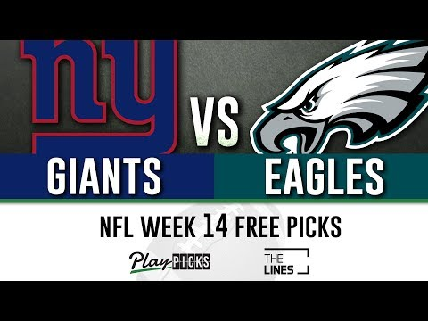 Monday Night Football NFL Week 14 - Giants vs Eagles | MNF Free Picks