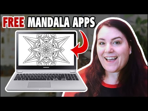 The BEST Mandala drawing apps online (FREE)