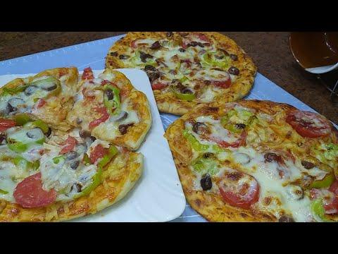 البيتزا بالعجينه السحريه واسرار المحلات