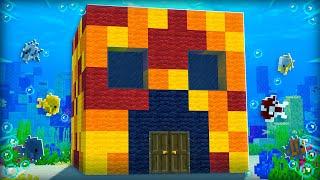 Preston vs Brianna UNDERWATER House Battle! - Minecraft