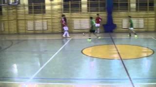 preview picture of video 'Lawina Spytkowice - Techniczni | Podhalańska Liga Futsalu | 16.11.2013'