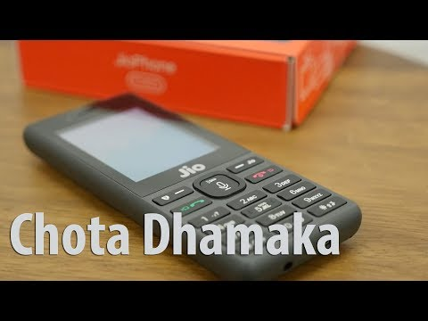 Jio Phone Unboxing & Overview Chota Dhamaka???? (Hindi Version)