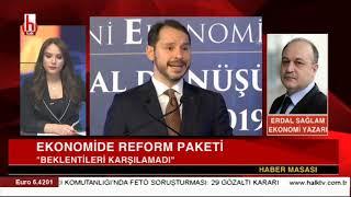 Berat Albayrak Paket Açıkladı Ama Ekonomi Yine çakılıyor! / Erdal Sağlam