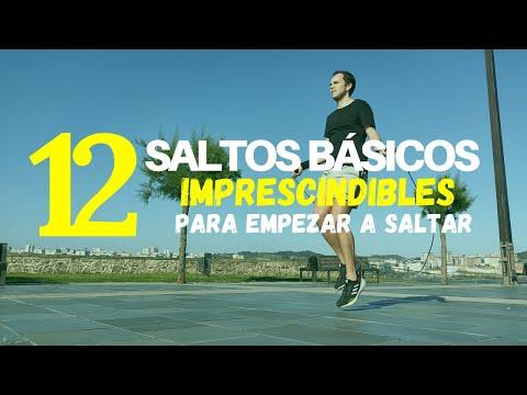 SALTAR CUERDA PARA PRINCIPIANTES - 12 Saltos Básicos Con Cuerda de Saltar 😁🤙