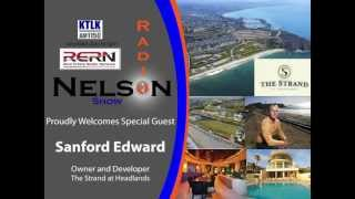 Sanford Edward discusses The Strand and its development on the Nelson Radio Show