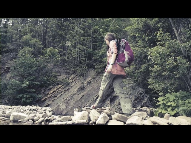 Видео Термоштаны женские Turbat Kychera grey