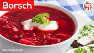 Borscht (Borsch) Russian and Ukrainian Beet Soup Recipe