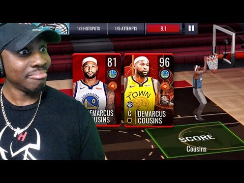 2d73bb1df9f RECRUITING DEMARCUS COUSINS IN LUNAR NEW YEAR CAMPAIGN! NBA Live Mobile 19  Season 3 Ep. 39 - QJB