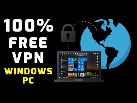 Video How To Get Unlimited VPN 100% FREE (Windows 10, 8, 7)