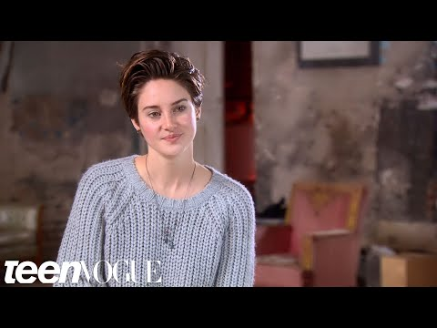 Shailene Woodley Talks About Her Character Hazel in 'The Fault in Our Stars' – Teen Vogue