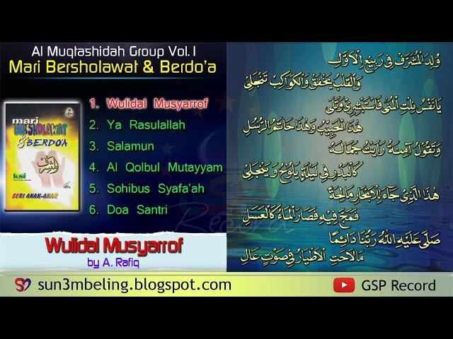 Full Al Muqtashidah Langitan Vol 1 Mari Bersholawat Berdo A With Text