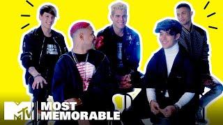 CNCO's Most Memorable MTV Moments 🌟 MTV
