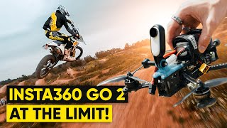 I Put The Insta360 GO 2 To The Test. | FPV & Motocross Action!